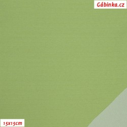 Nylon KENT fabric - Light Green, 15x15 cm