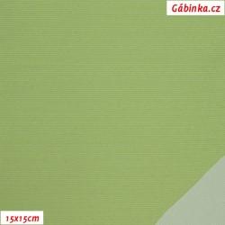 Šusťák KENT 370 - Světle zelený, šíře 145 cm, 10 cm