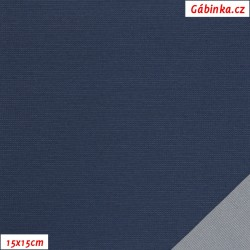 Nylon KENT fabric - Dark Blue, 15x15 cm
