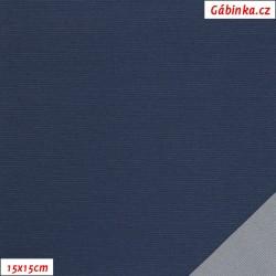 Šusťák KENT 435 - Tmavě modrý, šíře 145 cm, 10 cm