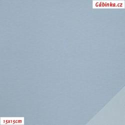 Šusťák KENT - Bledý modrý, šíře 145 cm, 10 cm