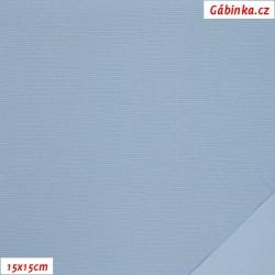 Nylon KENT fabric - Baby Blue, 15x15 cm