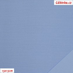 Nylon KENT fabric - Light Blue, 15x15 cm