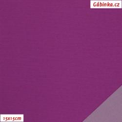 Nylon KENT fabric - Red-Purple, 15x15 cm