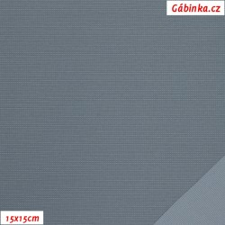Nylon KENT fabric - Middle Gray, 15x15 cm