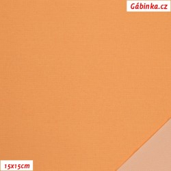 Nylon KENT fabric - Light Mustard, 15x15 cm