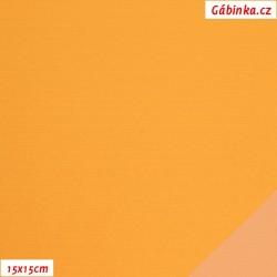 Šusťák KENT 387 - Vajíčkově žlutý, šíře 145 cm, 10 cm, 2. jakost
