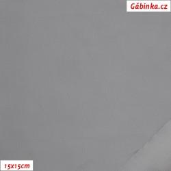 Šusťák lehký, voděodpudivý - Světle šedý, 15x15 cm