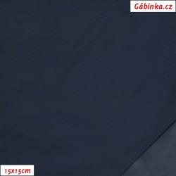 Šusťák lehký, voděodpudivý - Tmavě šedomodrý, 15x15 cm