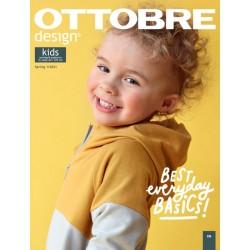 Časopis Ottobre design - 2021/1, Kids, jarní vydání