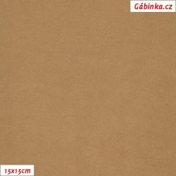 Microfleece antipilling 577 - Béžový, šíře 140-155 cm, 10 cm, 2. jakost