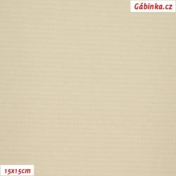 Kočárkovina MAT 255 - Cappuccino, šíře 160 cm, 10 cm, Atest 1
