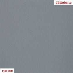 Funkční materiál SILVER - Světle šedý, šíře 140 cm, 10 cm