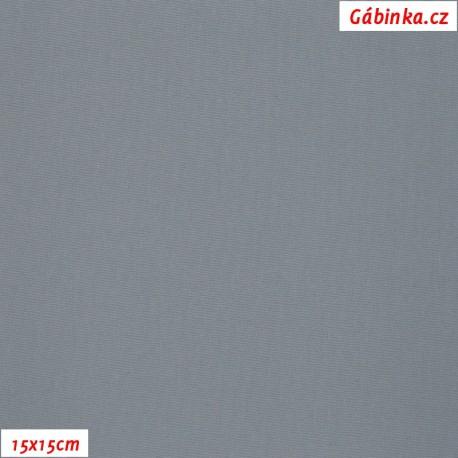 Funkční materiál SILVER - Světle šedý, 15x15 cm