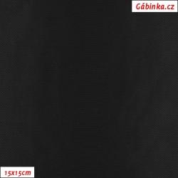 Podšívkovina Tivoli Rete žakár 100 - Černé MINI kosočtverce, 15x15 cm