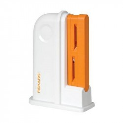 White/orange Scissors Sharpener Fiskars - 8620/1020499, 1 pc