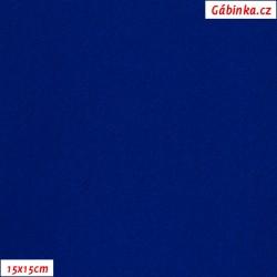 Lycra glossy 232 - Royal Blue, 15x15 cm