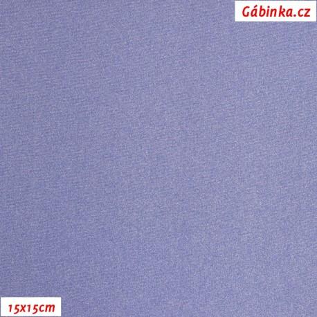 Lycra glossy 132 - Light Purple, 15x15 cm