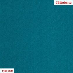 Lycra glossy 109 - Petrol, width 140 cm, 10 cm