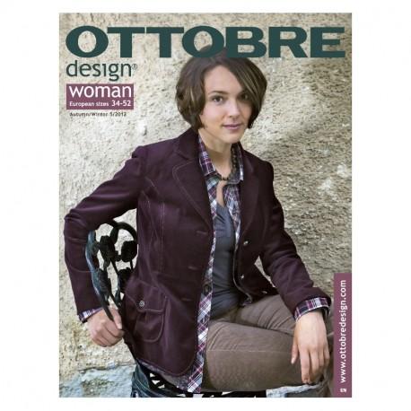 Časopis Ottobre design - 2012/5, Woman, titulní strana