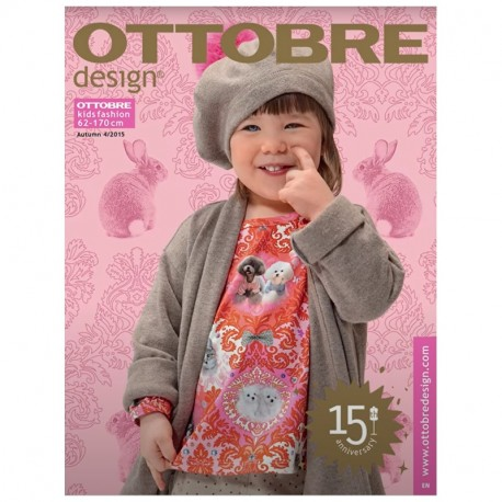 Ottobre design kids, 2015-04, titulní strana