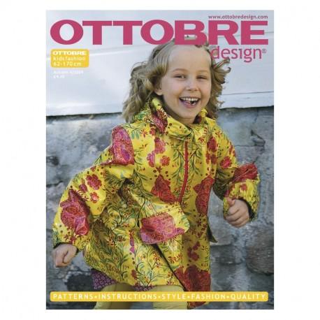 Ottobre design Kids, 2009-04, Titulní strana, English