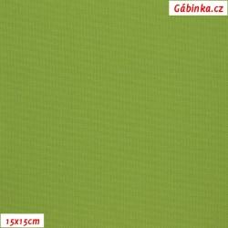 Kočárkovina MAT 187 - Zelená, šíře 160 cm, 10 cm, Atest 1