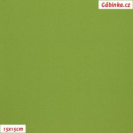 Kočárkovina MAT 187 - Zelená, 15x15 cm