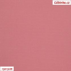 Kočárkovina MAT 258 - Tmavá starorůžová, šíře 160 cm, 10 cm