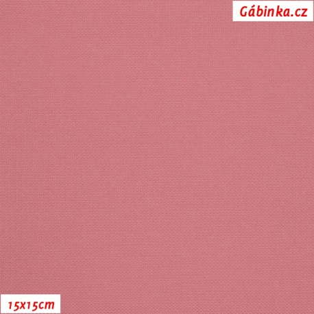 Kočárkovina MAT 258 - Tmavá starorůžová, 15x15 cm