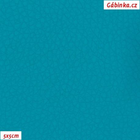 Koženka SOFT 78 - Tmavý tyrkys, 5x5 cm