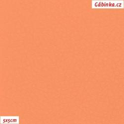 Koženka SOFT 45 - Meruňková, šíře 140 cm, 10 cm