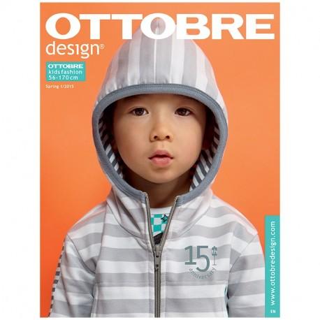 Ottobre design kids, 2015-01, Titulní strana