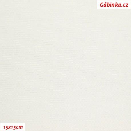 Kočárkovina MAT 947 - Přírodní bílá, 15x15 cm