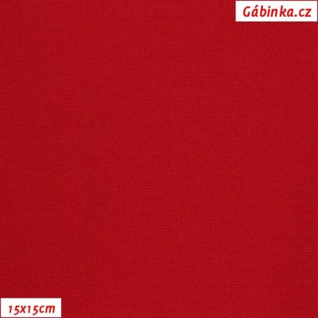 Kočárkovina, MAT 508 červená, 15x15cm