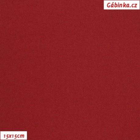 Kočárkovina MAT 706, červená s nádechem do modra, 10x10cm