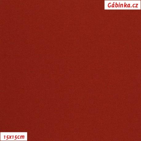 Kočárkovina MAT 777 - Červená, 15x15 cm