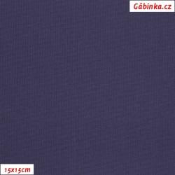 Kočárkovina MAT 157 - Fialová, 15x15 cm