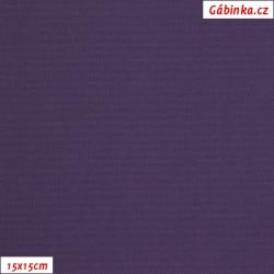 Kočárkovina MAT 214 fialová, 15x15cm