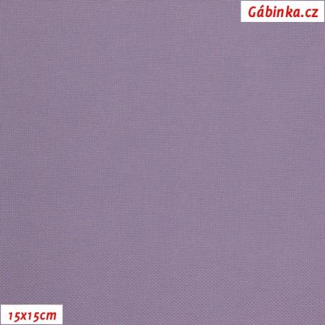 Kočárkovina, MAT 216 světle fialová, 15x15cm