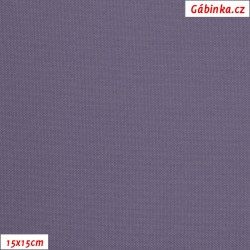 Kočárkovina MAT 223 - Fialová, šíře 160 cm, 10 cm, Atest 1