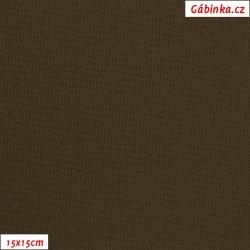 Kočárkovina MAT 424 - Hnědá, šíře 160 cm, 10 cm, Atest 1