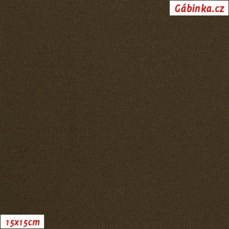 Kočárkovina MAT 424 - Hnědá, 15x15 cm