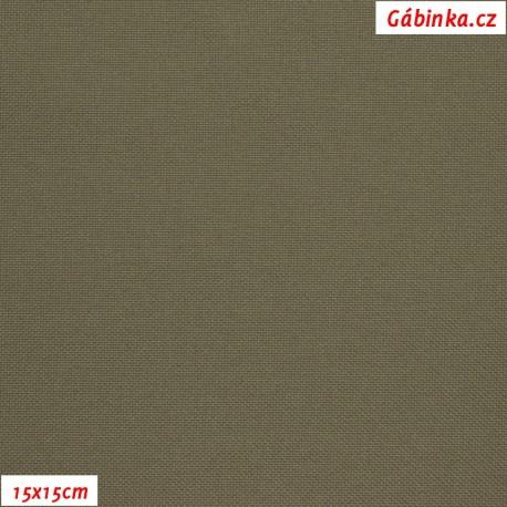 Kočárkovina MAT 857 - Šedohnědá, 15x15 cm