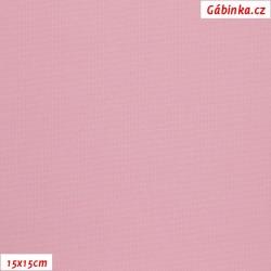 Kočárkovina MAT 62 - Světle růžová, 15x15 cm