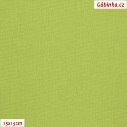 Kočárkovina MAT 176 - Světle zelená, šíře 160 cm, 10 cm, Atest 1