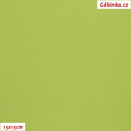 Kočárkovina MAT 176 - Světle zelená, 15x15 cm
