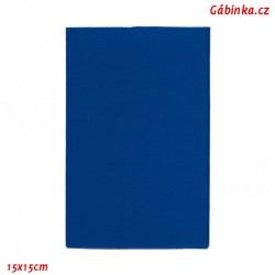 Záplata nažehlovací KEPR 13 - Královsky modrá, 15x15 cm
