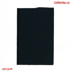 Záplata nažehlovací KEPR 34 - Tmavě modrá, 15x15 cm