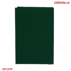 Záplata nažehlovací KEPR 524 - Tmavě zelená, 15x15 cm